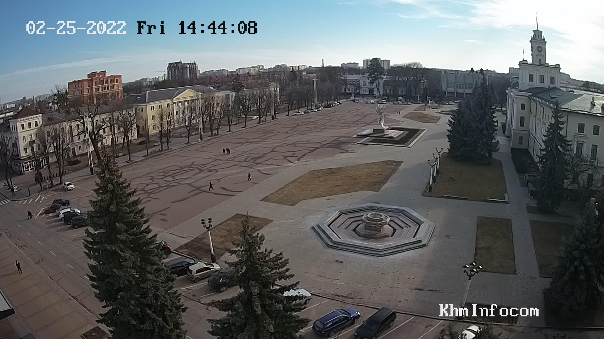 Webcam Хмельницький: Independence Square