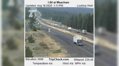 Vista de cámara web de luz diurna desde Meacham: I 84 at