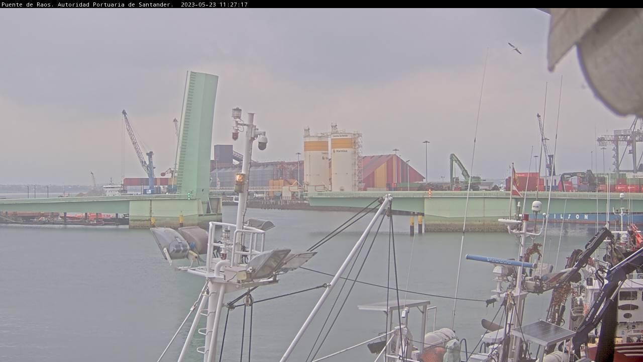 Webkamera Santander: Puerto de