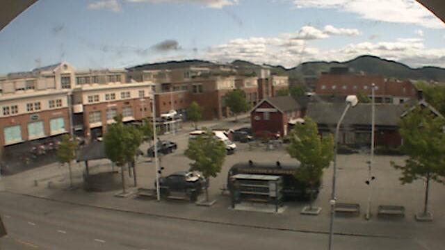 Webkamera Stjørdalshalsen: Stjørdal torg