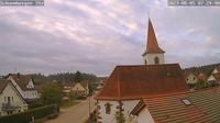 Igelsloch › South-West: Oberreichenbach − Blick auf die Schömberger Str