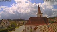 Igelsloch > South-West: Oberreichenbach - Blick auf die Sch�mberger Str - Day time