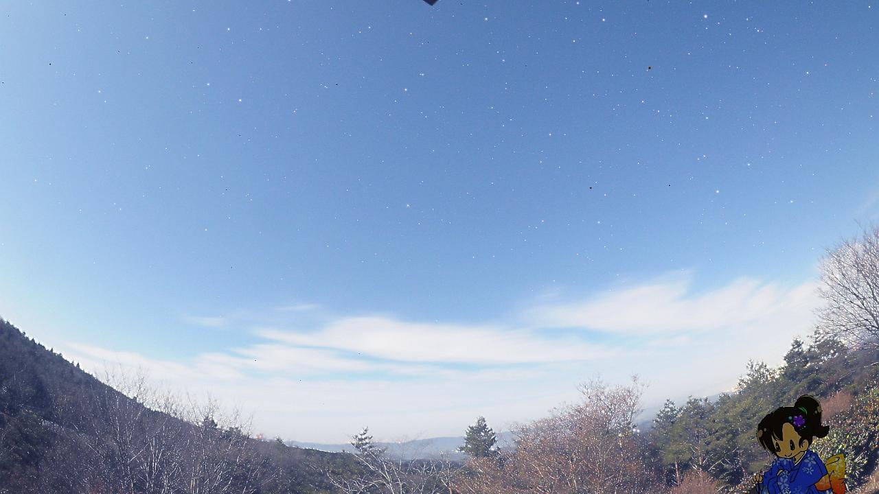 Webcam 西波多: Starry sky live camera from kounoyama