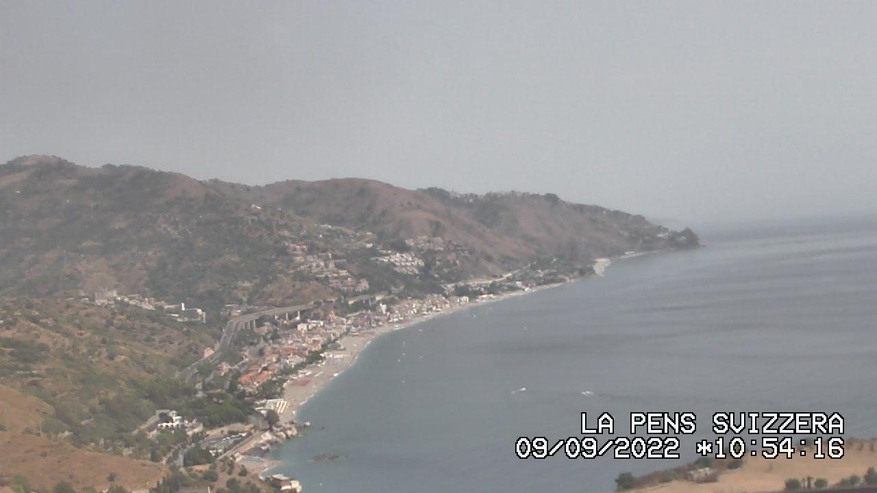 Webcam Taormina: Costa Jonica