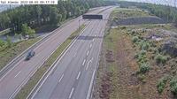 Alvsjo stadsdelsomrade: Långbro (Kameran är placerad på E Strängnäsvägen mellan trafikplats Nykvarn och trafikplats Vasa, och är riktad mot Stockholm. I bilden syns Trafikverkets trafikinformationsskylt) - Actuelle