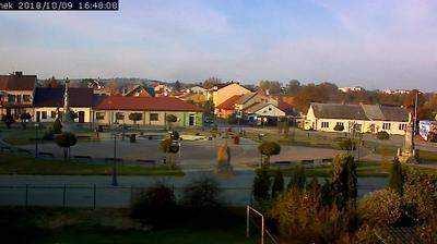 Webcam Kunów: Rzeczpospolita − kunow.pl − rynek, pl.wolno