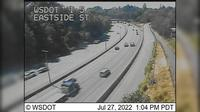 Last daylight view from Olympia: I 5: Eastside St