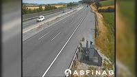 Boheimkirchen: A, zwischen Anschlussstelle - und Halbanschlussstelle St. Christophen, Blickrichtung Wien - Km , - El día
