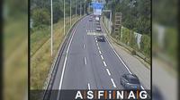 Leopoldstadt: A, bei Anschlussstelle Simmering Alt, Blickrichtung - Km , - Overdag