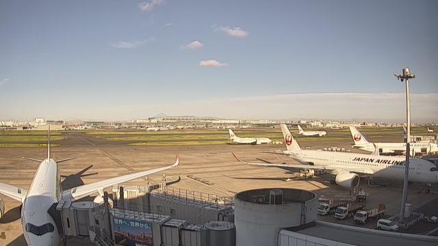 Webkamera Tokyo International Airport: International Airport