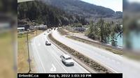 Britannia Beach › South: , Hwy  in - at Copper Drive, looking south - El día