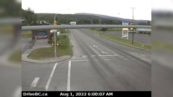 Webcam Burns Lake › East: Hwy 16, in − at N. Francois Hwy
