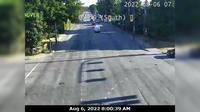 Marpole > North: , Oak Street at th Ave., north approach to Oak Street Bridge, looking north on Oak Street - Aktuell
