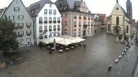 Rottenburg am Neckar: Marktplatz - Tageszeit