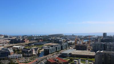 Vista de cámara web de luz diurna desde Cape Town: The Westin