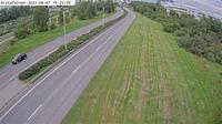 Stockholm: �rstaf�ltet (Kameran �r placerad p� v�g  Huddingev�gen i h�jd med �rstaf�ltet och �r riktad mot S�dra l�nkens tunnelmynning) - Actuales