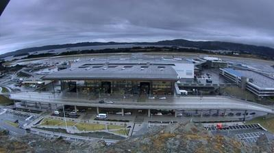 Webcam Flesland: Construction of terminal 3 at Bergen Air