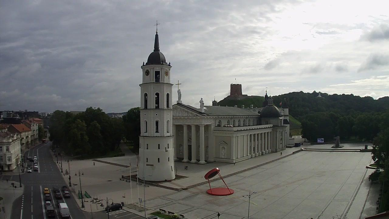 Webkamera Vilnius: Vilniaus širdis