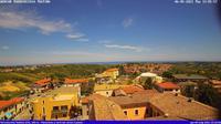 Torrevecchia Teatina: Panorama a nord est sul paese - Overdag