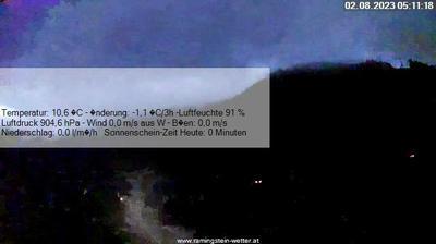 Gambar mini Webcam Tamsweg pada 2:13, Jun 23