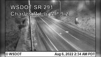 Spokane > North: SR  at MP .: Charles Road () - Current