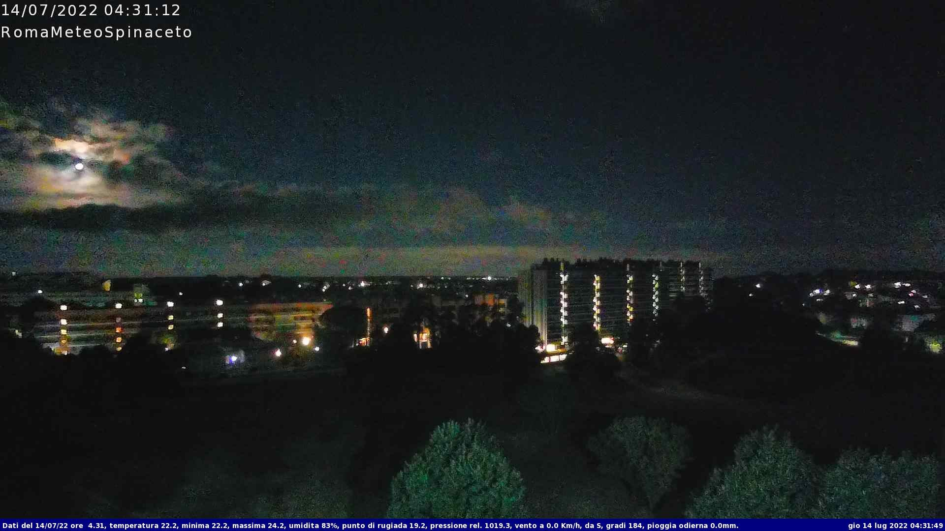 Webcam Rome › West: Castelfusano