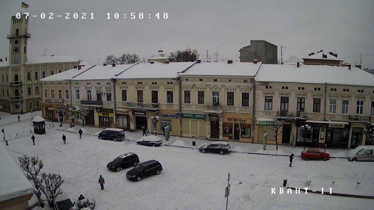 Webkamera Kolomyia › South-West: Ратуша