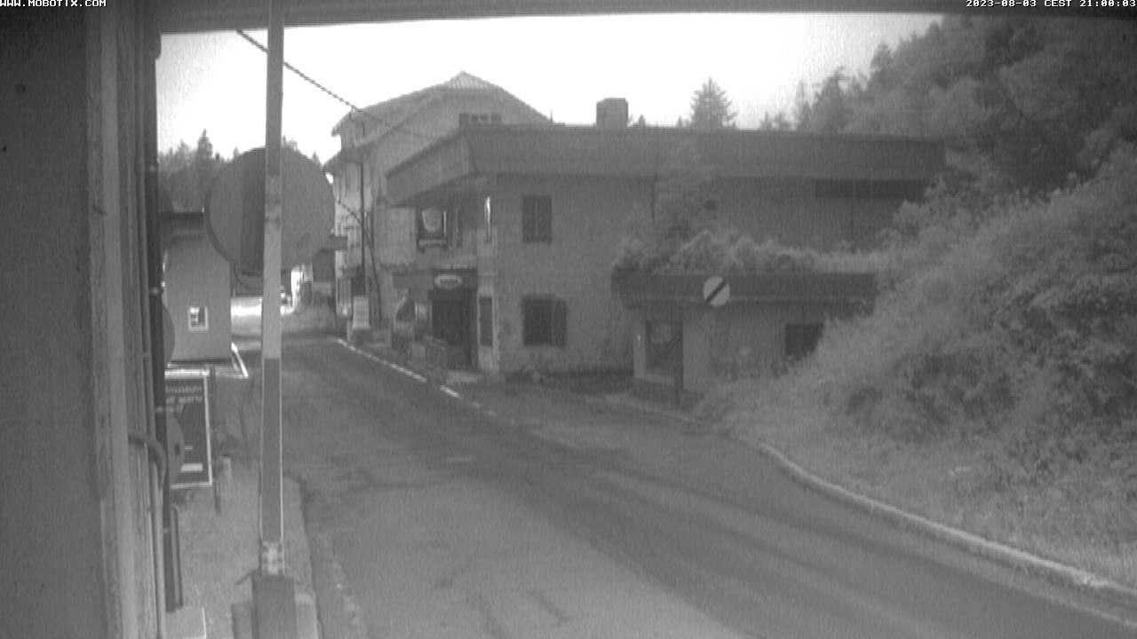 Webcam Passo di Monte Croce Carnico: Plöckenpass Straße