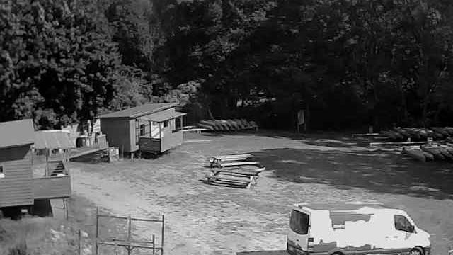 Webkamera Berkholzofen: Rheinsberg − Blick auf den Bootsverl