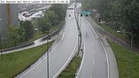 Ostermalms stadsdelsomrade: Tpl Ropsten (Kameran är placerad på väg  Lidingövägen i höjd med Ropsten och är riktad mot Norra länken/E) - El día