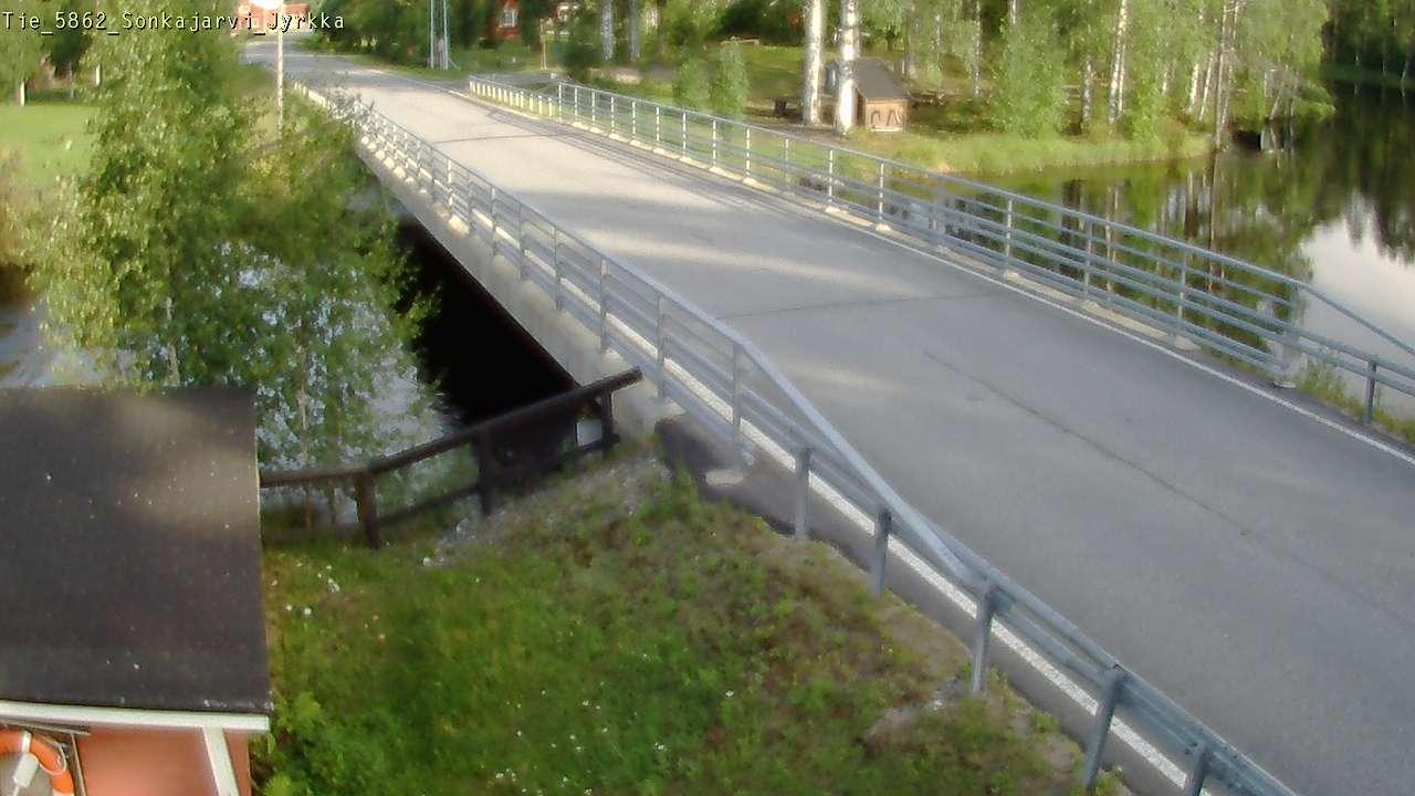 Webcam Sonkajärvi: Tie 5862