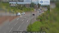 Little London: HIGH ROAD LEYTONSTONE/BUSH ROAD - Day time