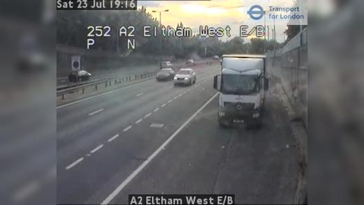 Webcam Bexley: A2 Eltham West E/B