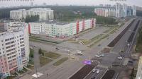 Chelyabinsk › South-East: Ulitsa Skul'ptora Golovnitskogo - Beyvelya St - Prospekt Pobedy - Krasnoznamennaya St - El día