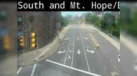 Rochester: South Ave at Byron/Mt. Hope - El día
