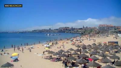 Vue webcam de jour à partir de Cascais e Estoril: Cascais Lisbona Praia _ da _ Conceição _ e _ Duquesa
