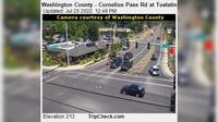 Hillsboro: Washington County - Cornelius Pass Rd at Tualatin Valley Hwy - Day time