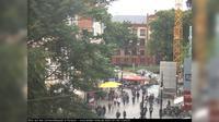 Rostock: Universitätsplatz - Kröpeliner Straße - Dia