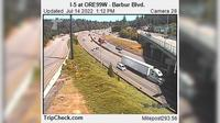 Portland: I- at OREW - Barbur Blvd - Day time