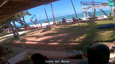 Daylight webcam view from Cabarete: Kite Club − Kite Beach