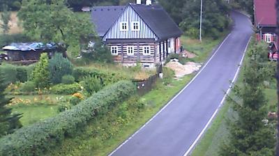 Vue webcam de jour à partir de Horní Světlá: Chata Lužanka