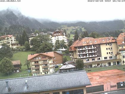 Wengen: village