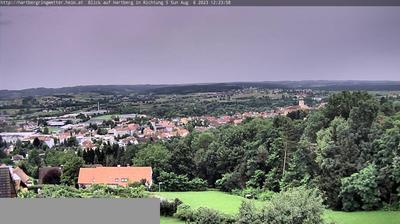 Vue webcam de jour à partir de Hartberg