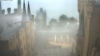 Hechingen: Burg Hohenzollern, Burghof - Day time