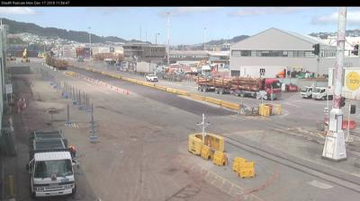 Webkamera Wellington: Centreport Road Exchange