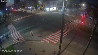 Запорожье: Ukrainska Street - Sobornyi Avenue