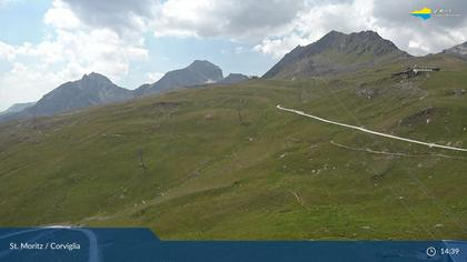 Sankt Moritz: Corviglia, Piz Nair - Audi Ski Run