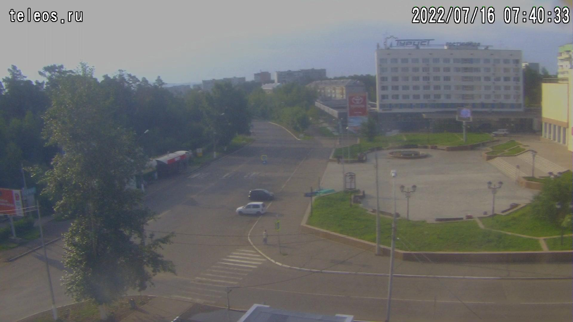 Webkamera Энергетик: Братск − площадь