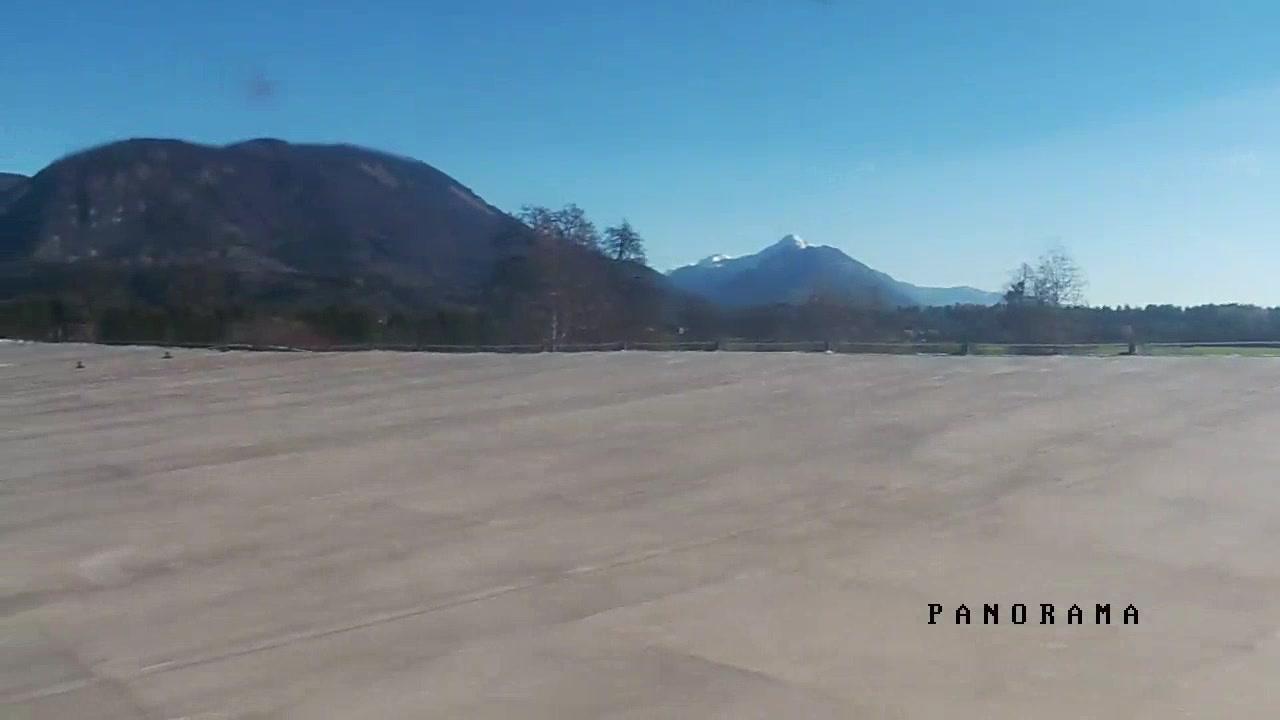 Webcam Lesce-Bled Airport