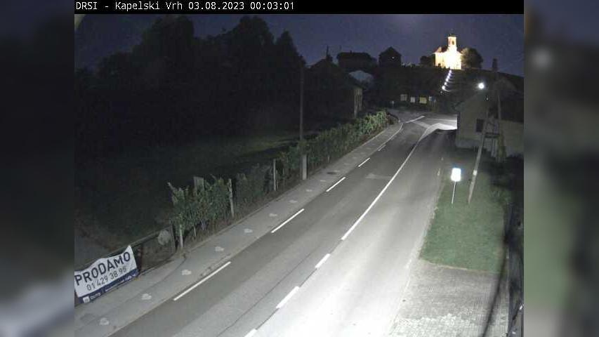 Webcam Kopela: RT-941, Grabonoš − Radenci, Kapelski Vrh